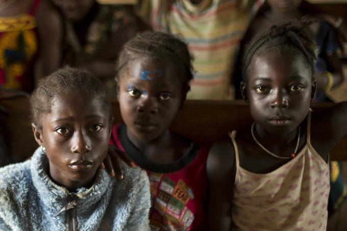 """""""Scanpix""""/AP nuotr./Vaikai Afrikoje"""