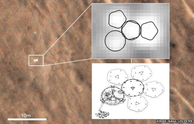 """Marso paviršiuje aptiktas """"Beagle 2"""""""