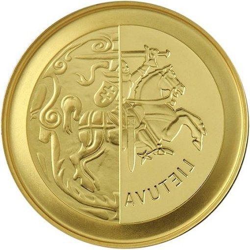 """Lietuvos banko"" nuotr./50 eurų kolekcinė moneta"