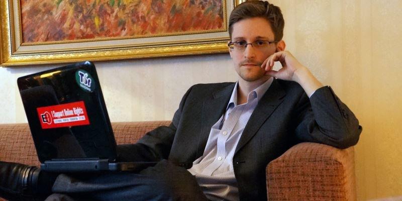 "Filmo ""Pilietis Edwardas Snowdenas"" kadras"