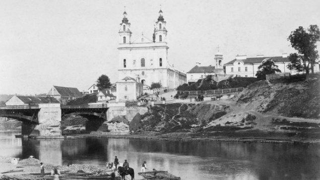 Šnipiškės 1892 metais