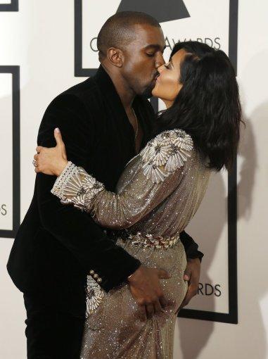 """""""Reuters""""/""""Scanpix"""" nuotr./Kanye Westas ir Kim Kardashian"""