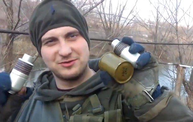 Rusijos teroristai smaginasi sprogdindami žuvį