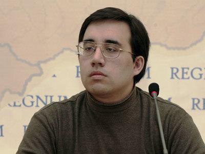 Rusijos propagandininkas, istorikas Aleksandras Diukovas