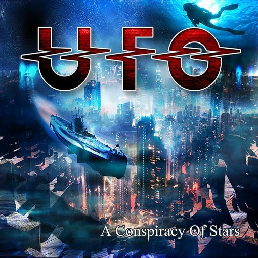 "Asmeninio albumo nuotr./UFO albumas ""A Conspiracy Of Stars"""