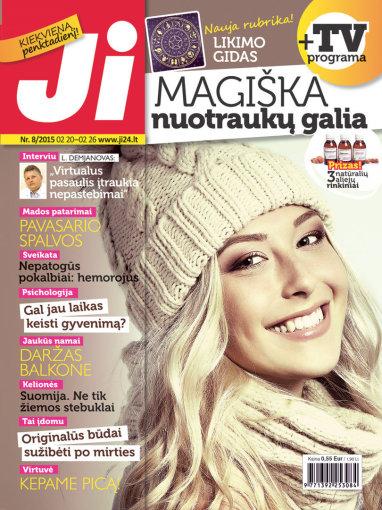 """Redakcijos archyvo nuotr./Žurnalo """"Ji"""" viršelis (8) nr."""