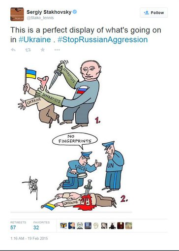 """Twitter"" nuotr./Sergiy Stakhovsky"