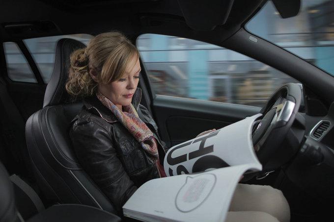 """""""Volvo"""" autonominis automobilis"""