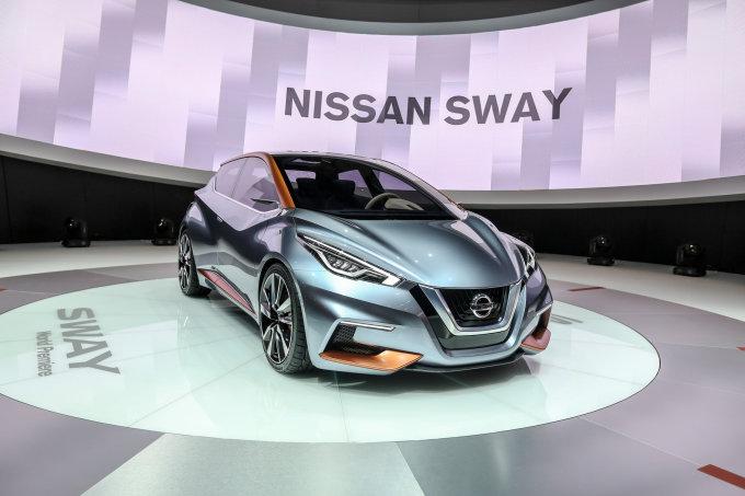 """Juliaus Kalinsko / 15min nuotr./""""Nissan Sway"""""""