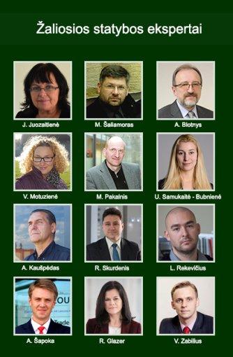Žaliųjų statybų ekpertai. Projekto