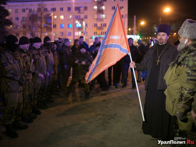 Popas ragino į Donbasą išvykstančius samdinius žudyti