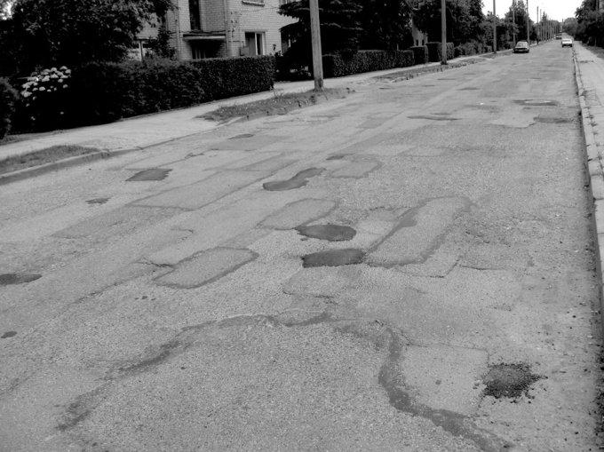 Duobėta gatvė Utenoje