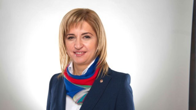 Prorusiška Moldovos politikė Irina Vlah.