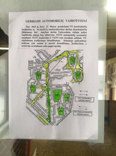 VU ir VGTU bendrabučių renovacijos planas