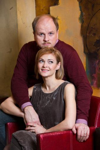 Gretos Skaraitienės/Žmonės.lt nuotr./Edmundas Seilius ir Kristina Zmailaitė