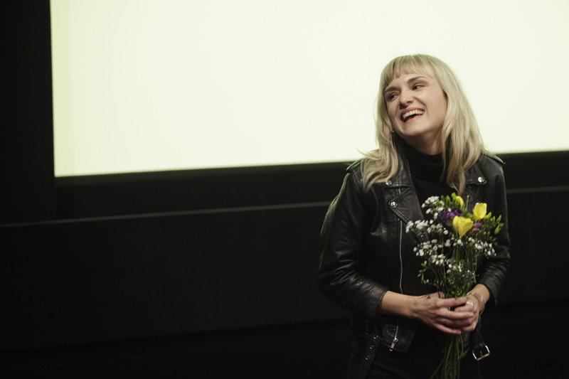 """Filmo """"Dainų šalis"""" režisierė Aldona Watts"""
