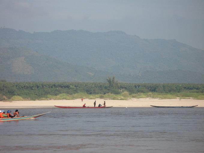 Godos Juocevičiūtės nuotr./Mekongo upė Laose