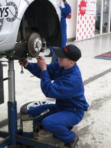 Jaunojo automechaniko 2015 konkurso finalas