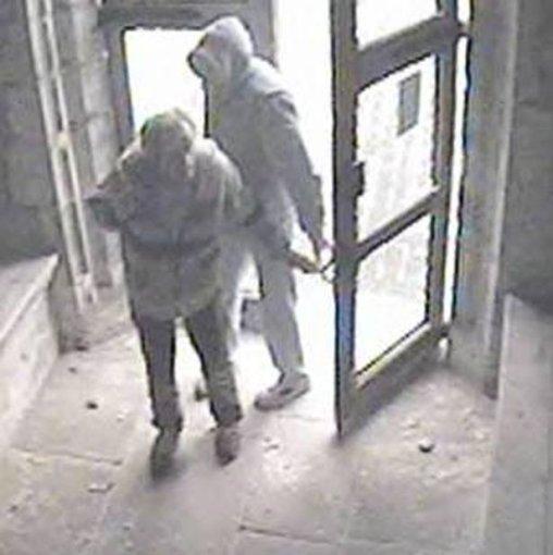 Kento policijos nuotr./R.Piktorovo nusikaltimą fiksavo vaizdo kameros