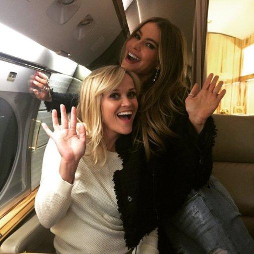 """Instagram"" nuotr./Reese Witherspoon ir Sofia Vergara"