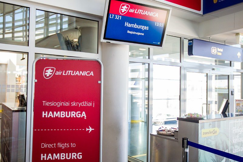 """Oro linijų bendrovė """"Air Lituanica"""" pradeda skrydžius į Hamburgą"""