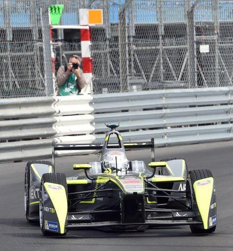 "AFP/""Scanpix"" nuotr./""Formulė-E"" lenktynės Monake"