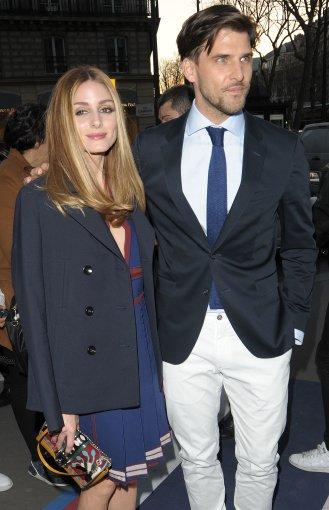 Vida Press nuotr./Olivia Palermo su vyru