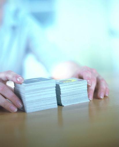 Vida Press nuotr./Kortų žaidimas