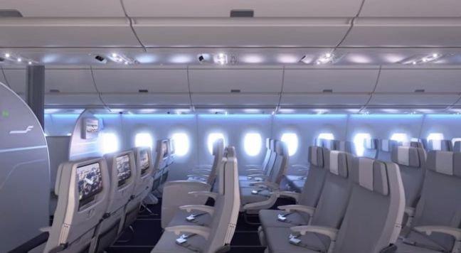 """Naujasis """"Finnair"""" lėktuvas"""