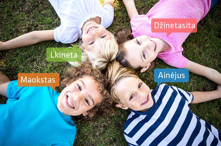 Rečiausi vaikų vardai Lietuvoje