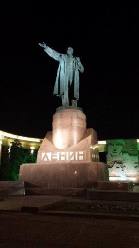 A.Dolženkos feisbuko nuotr./Leninas gyvas