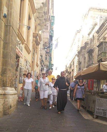 Pasivaikščiojimas Valetos gatvėmis