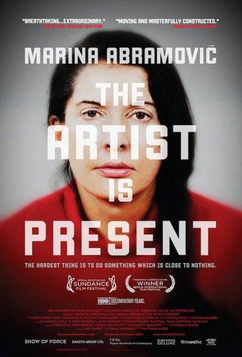 Vida Press nuotr./Filmo apie Mariną Abramovič plakatas