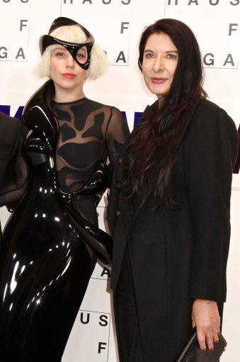 Vida Press nuotr./Lady Gaga ir Marina Abramovič