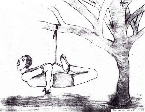 Kankinimai Eritrėjoje