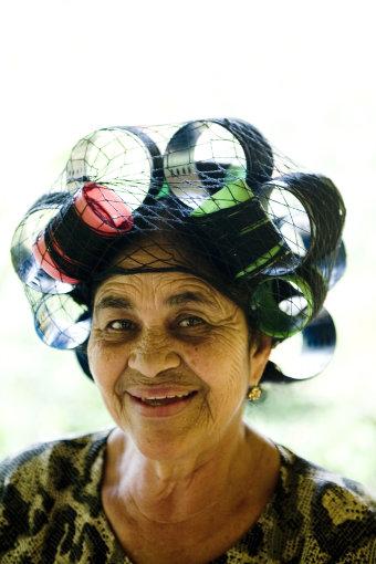 Vida Press nuotr./Sena laiminga moteris