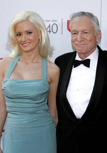 Scanpix/mavrixphoto.com nuotr./Holly Madison ir Hugh Hefneris