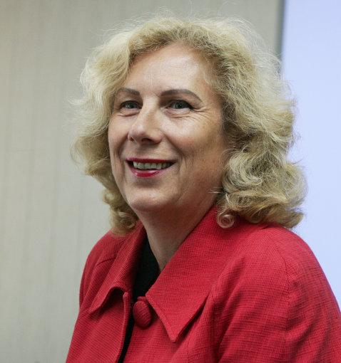SGNSF dekanė, jungtinės studijų programos rengimo darbo grupės vadovė prof. Ingrida Baranauskienė. Z.Ripinskio nuotr.
