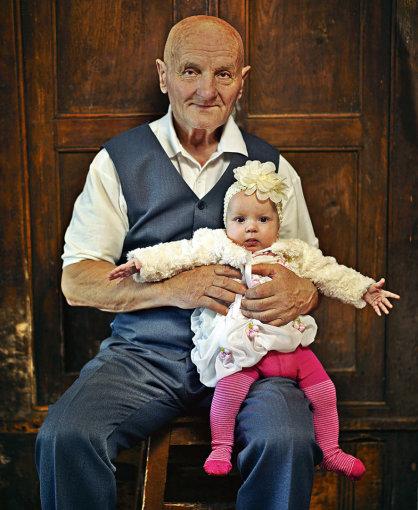 """Algio Kriščiūno/""""Happy 365"""" nuotr./Vidas Antonovas su dukra Dominyka Europa"""