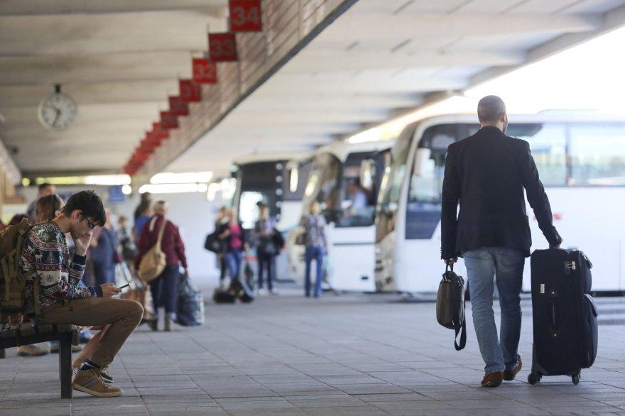Irmanto Gelūno/15min.lt nuotr./Vilniaus autobusų stotis