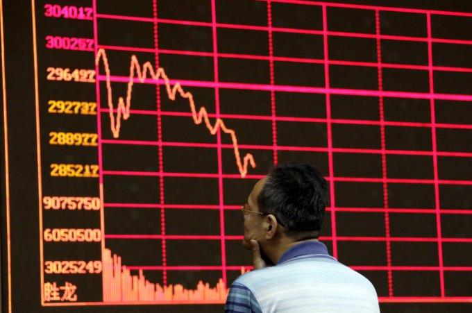 """""""Reuters""""/""""Scanpix"""" nuotr./Neramumai pasaulio akcijų biržose"""
