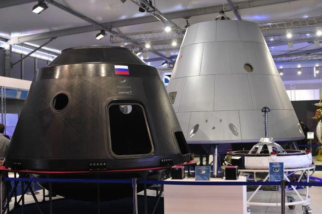 Pilotuojamas Rusijos erdvėlaivis