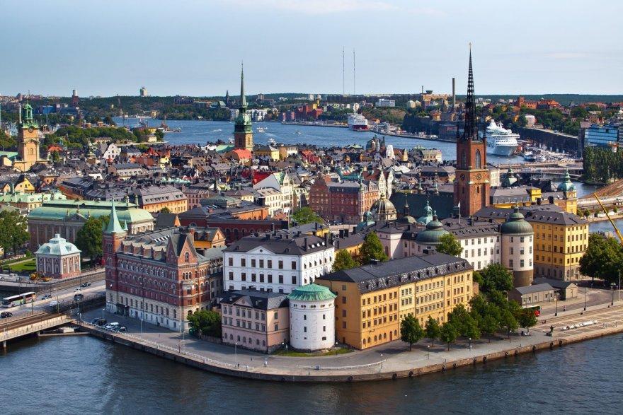 123rf.com nuotr./Stokholmo panorama