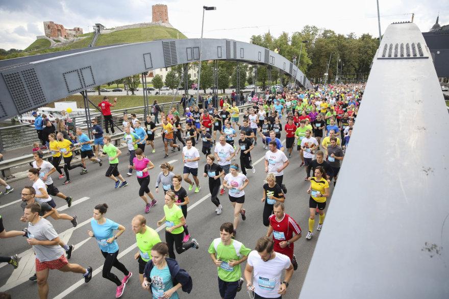 "Luko Balandžio / 15min nuotr./""Danske Bank Vilniaus maratonas"""