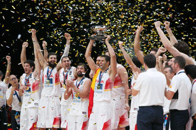 Eriko Ovčarenko / 15min nuotr./Ispanijos krepšinio rinktinė