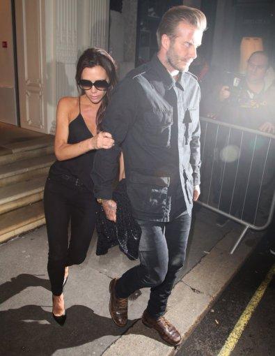 """""""Scanpix""""/Xposurephotos.com nuotr./Victoria Beckham ir Davidas Beckhamas"""