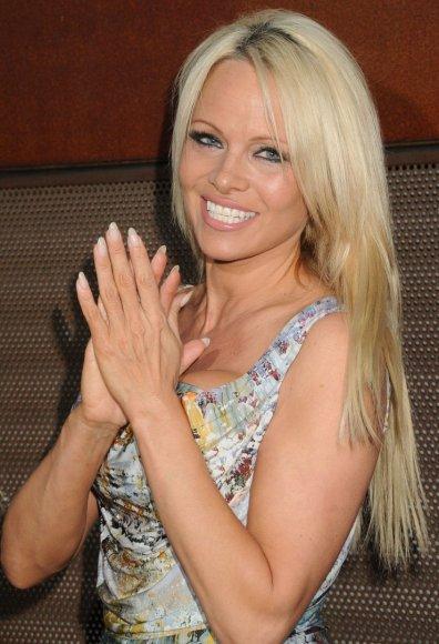 """""""Scanpix""""/""""SIPA"""" nuotr./Pamela Anderson"""