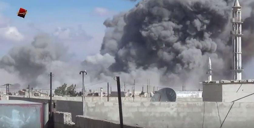 Rusijos antskrydžiai Sirijoje