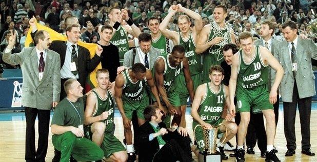 """""""Žalgirio"""" triumfas Eurolygoje 1999"""
