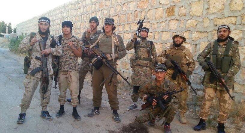 """""""Islamo valstybės"""" kariai"""